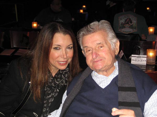 Roberta with Sid Bernstein at BBKings, NYC