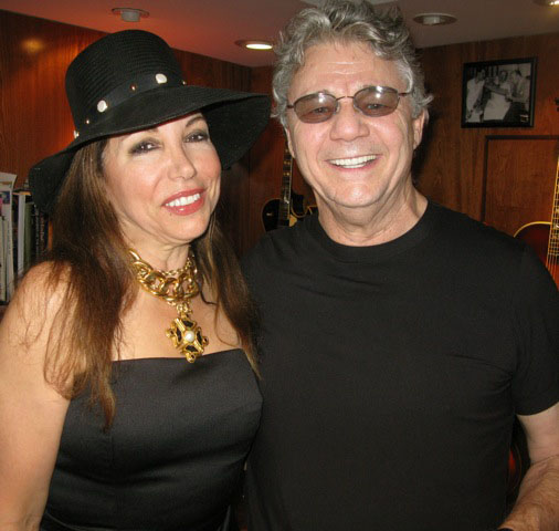 With Steve Miller at the Guitar Heroes Party 2011