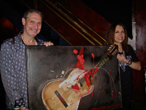 "RF with Steve Walter ""School of Rock…Rule #1"" Art Piece"