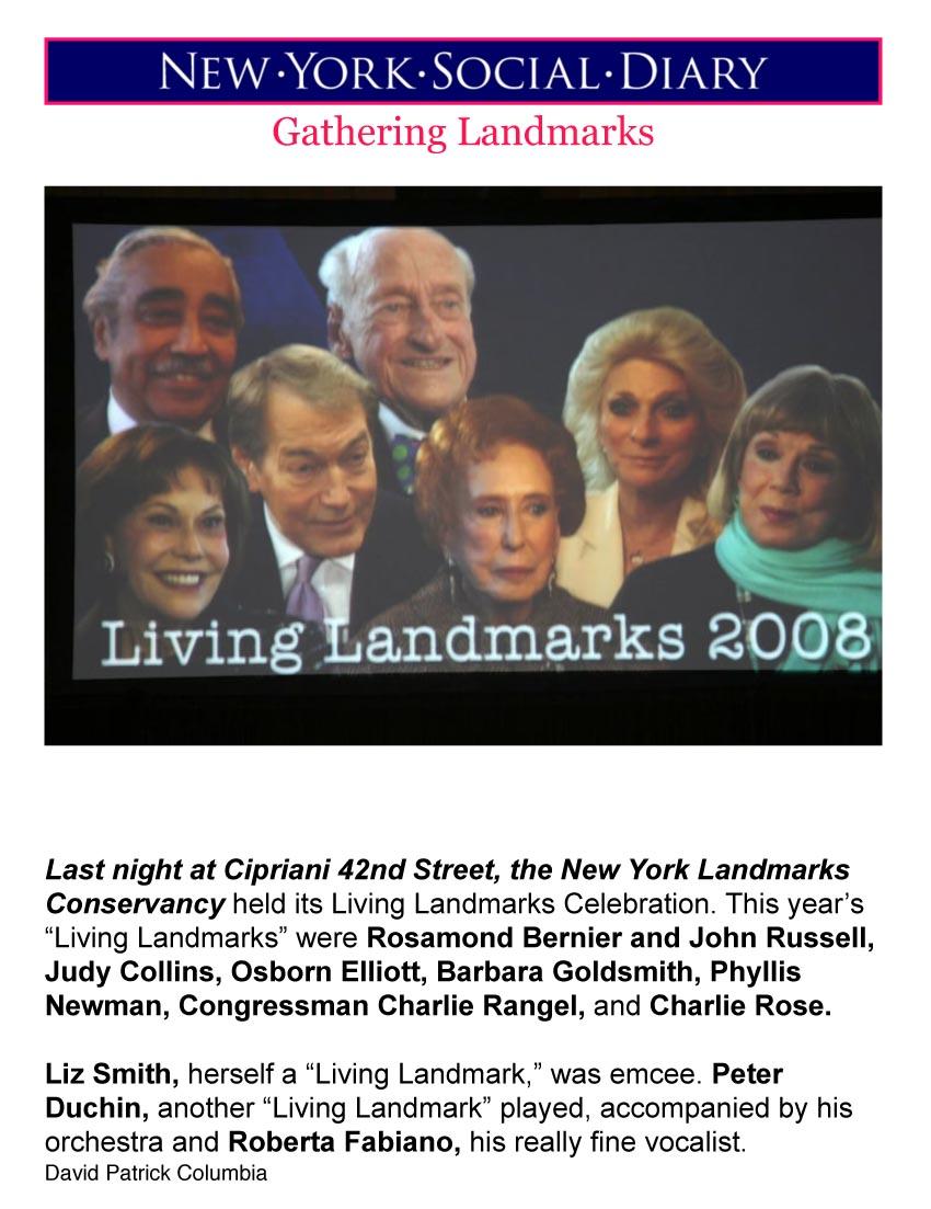 Living Landmark's Party