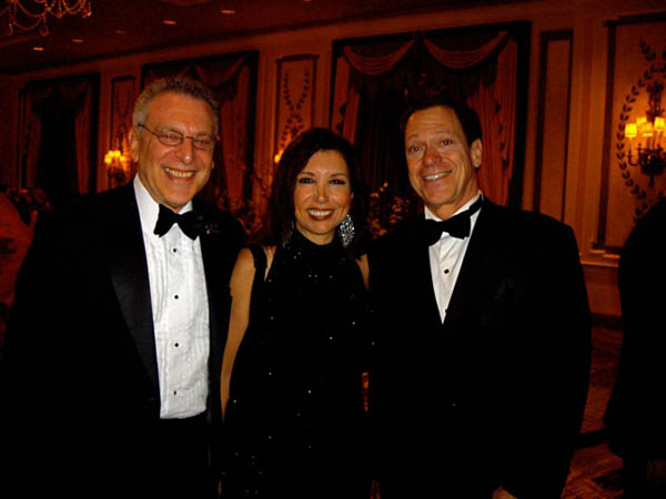 With Barry Lazarowitz and Joe Piscopo at the Pierre Hotel