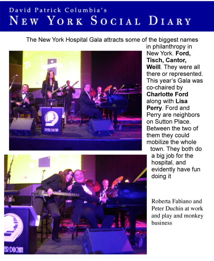 New York Hospital Gala