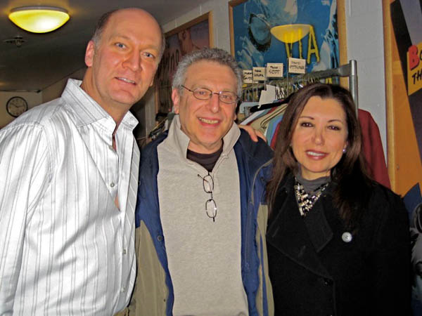 With David Pittsinger and Barry Lazarowitz