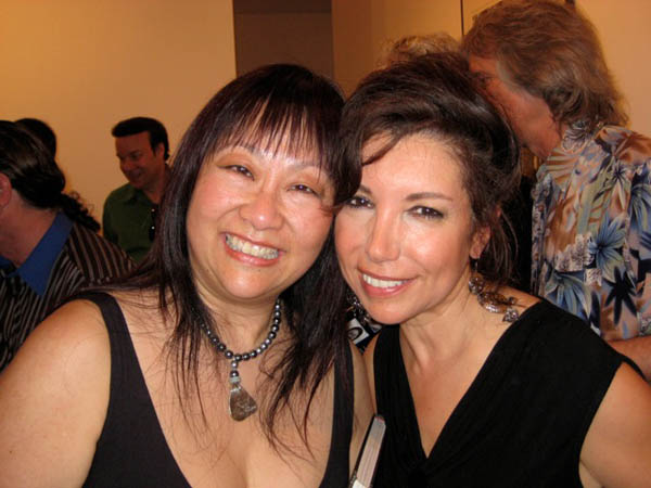 WIth May Pang at her recent photo exhibit in Soho, NYC