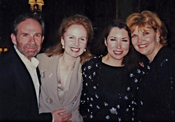 With Ron Rifkin, Kate Burton and Debra Monk