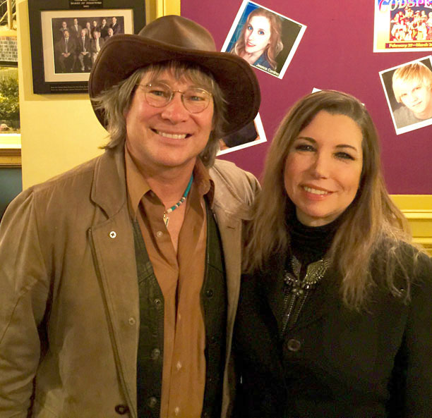 Performing with Ted Vigil at a sold out John Denver Tribute show at Theatre Three in Pt. Jefferson, NY.