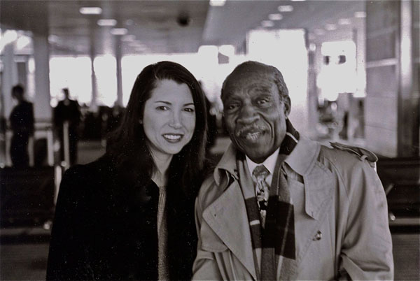 RF and Joe WIlder at Reagan Airport