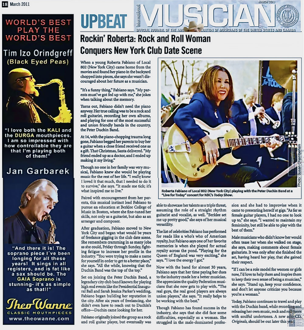 International Musician Magazine