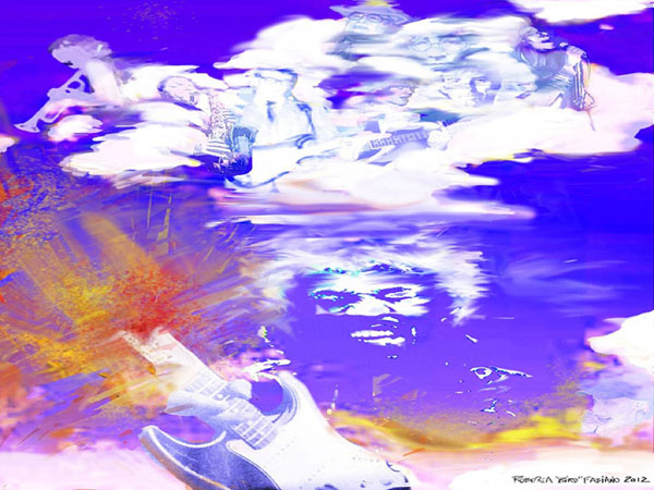 """Hendrix Cloud Collage"", 2012"