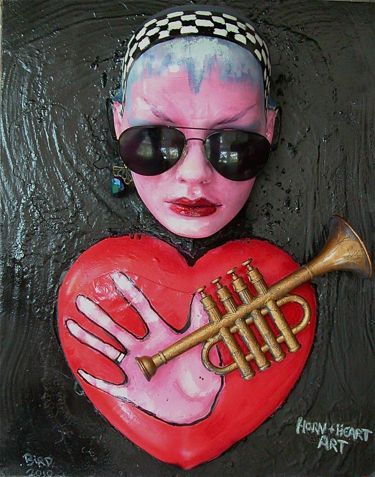 Horn & Heart Art
