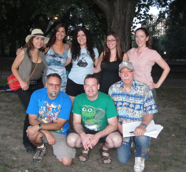Inkwell Foundation in Central Park 2011