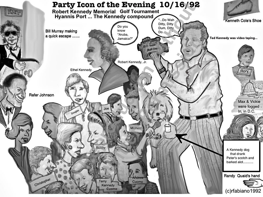 Party Icon of the Evening 10/16/92
