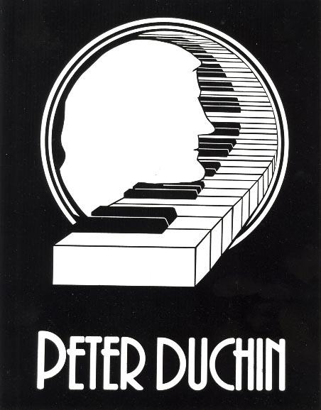 Peter Duchin Music Stand Logo