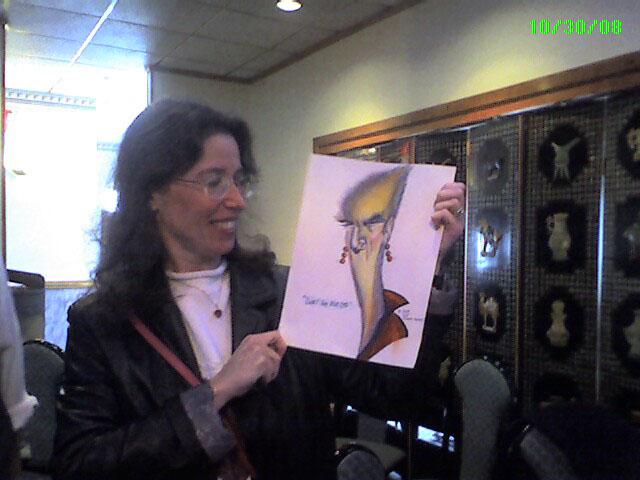 This cartoon, entitled Sweet Judy Blue Eyes was won by cartoonist Helen Murdock-Prep