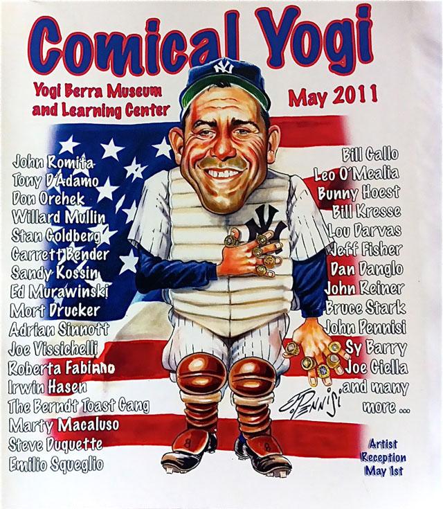 Yogi Berra Comical Magazine
